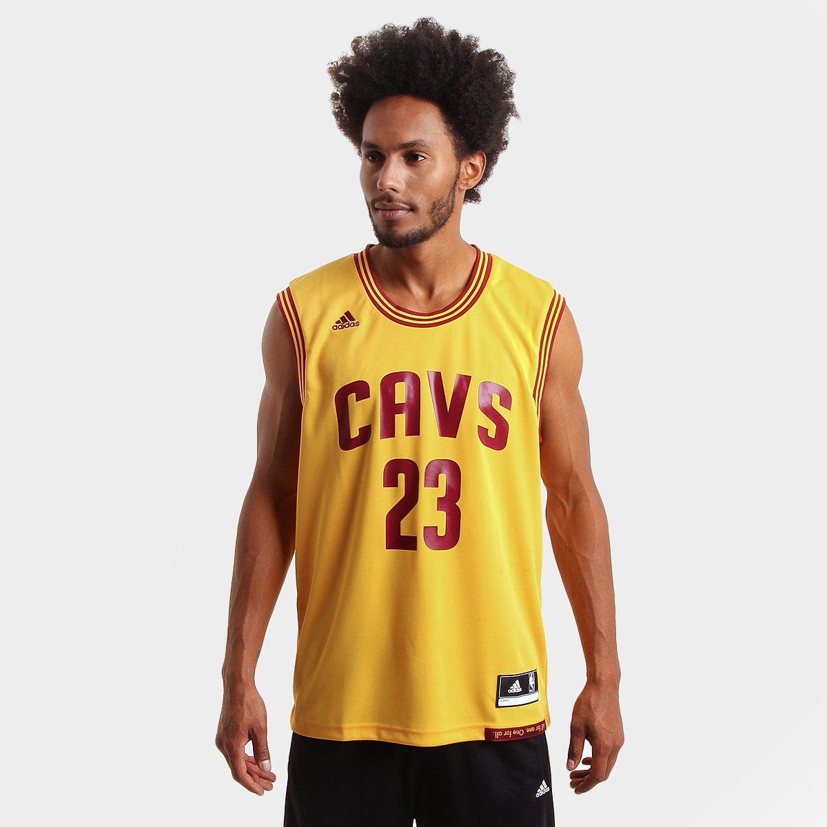Camiseta Regata Adidas NBA Cleveland Cavaliers - James - Compre Agora  12caf78a97e