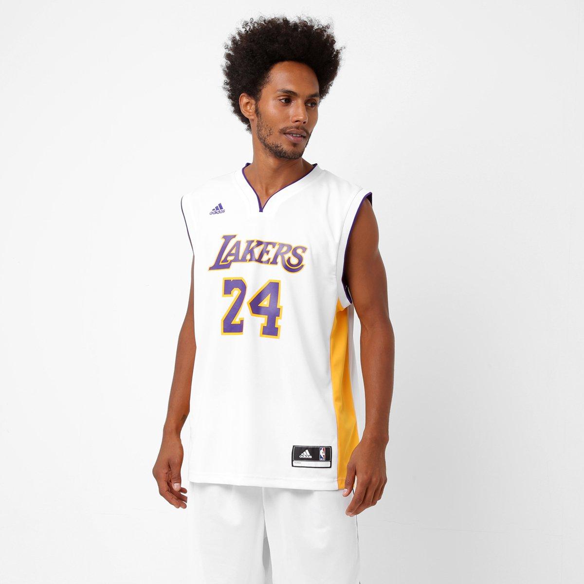 51b898961 Camiseta Regata Adidas NBA Los Angeles Lakers - Kobe Bryant - Compre Agora