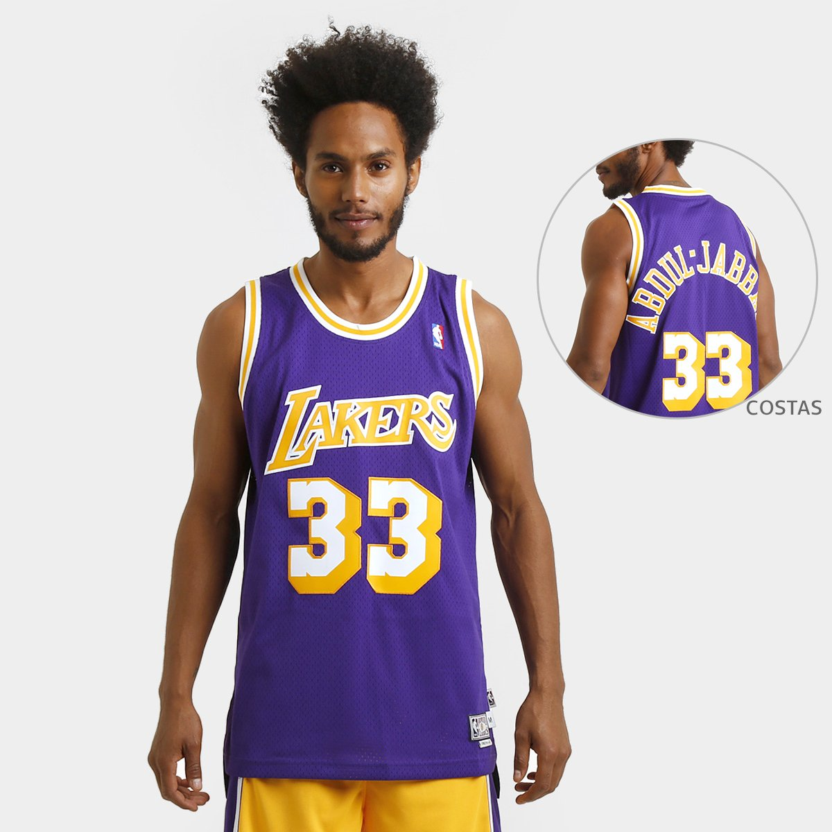 a94cdf04d Camiseta Regata Adidas NBA Retired Los Angeles Lakers - Abdul Jabbar -  Compre Agora