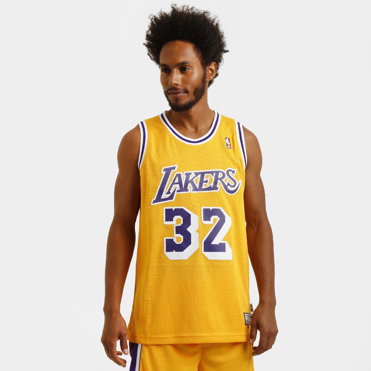 dbf50d66e Camiseta Regata Adidas NBA Retired Los Angeles Lakers - Johnson - Compre  Agora