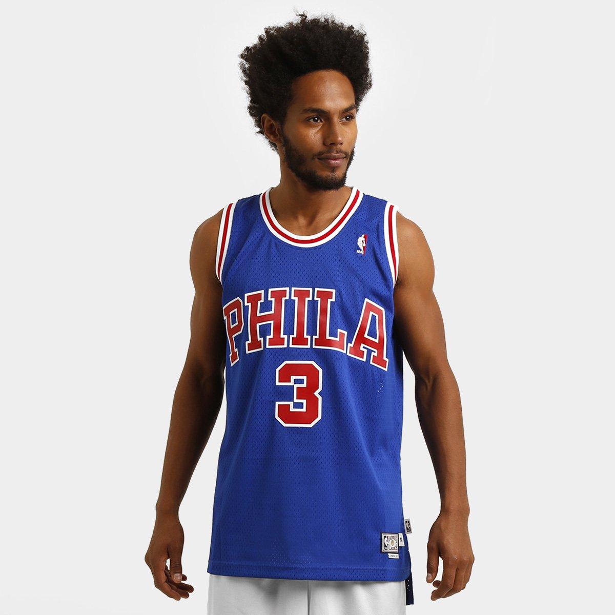 c3c1d741c7 Camiseta Regata Adidas NBA Retired Philadelphia 76Ers - Iverson ...