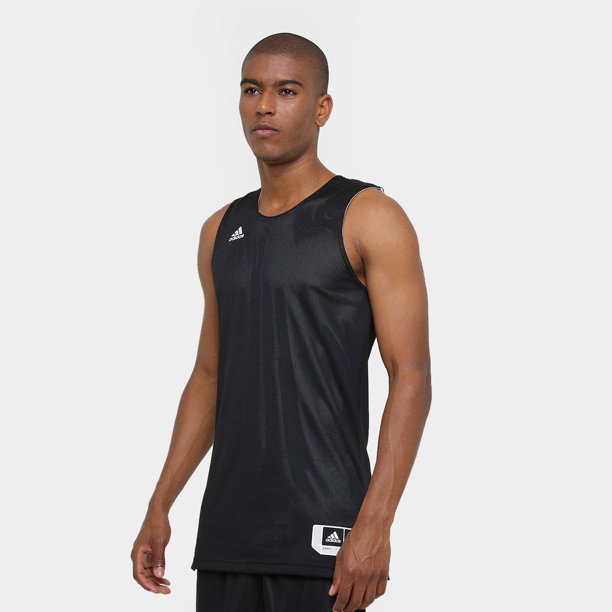 452cb7f919 Camiseta Regata Adidas Treino Reversivel Masculina - Compre Agora ...
