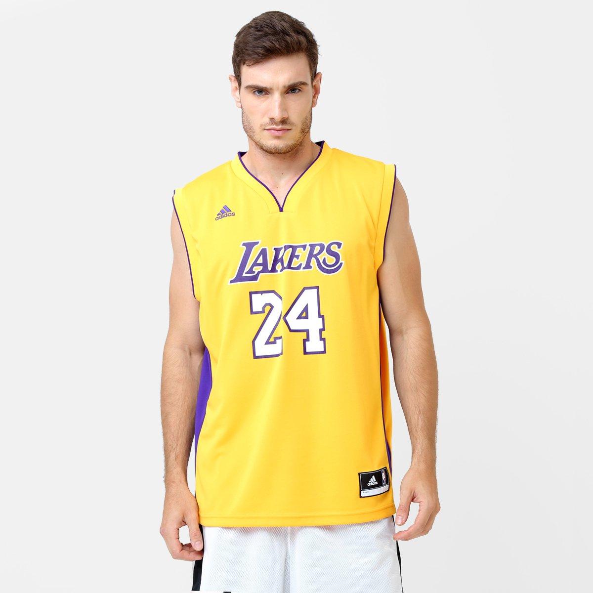 Camiseta Regata NBA Adidas Los Angeles Lakers Home - Bryant - Compre Agora   b04ab97bd2f