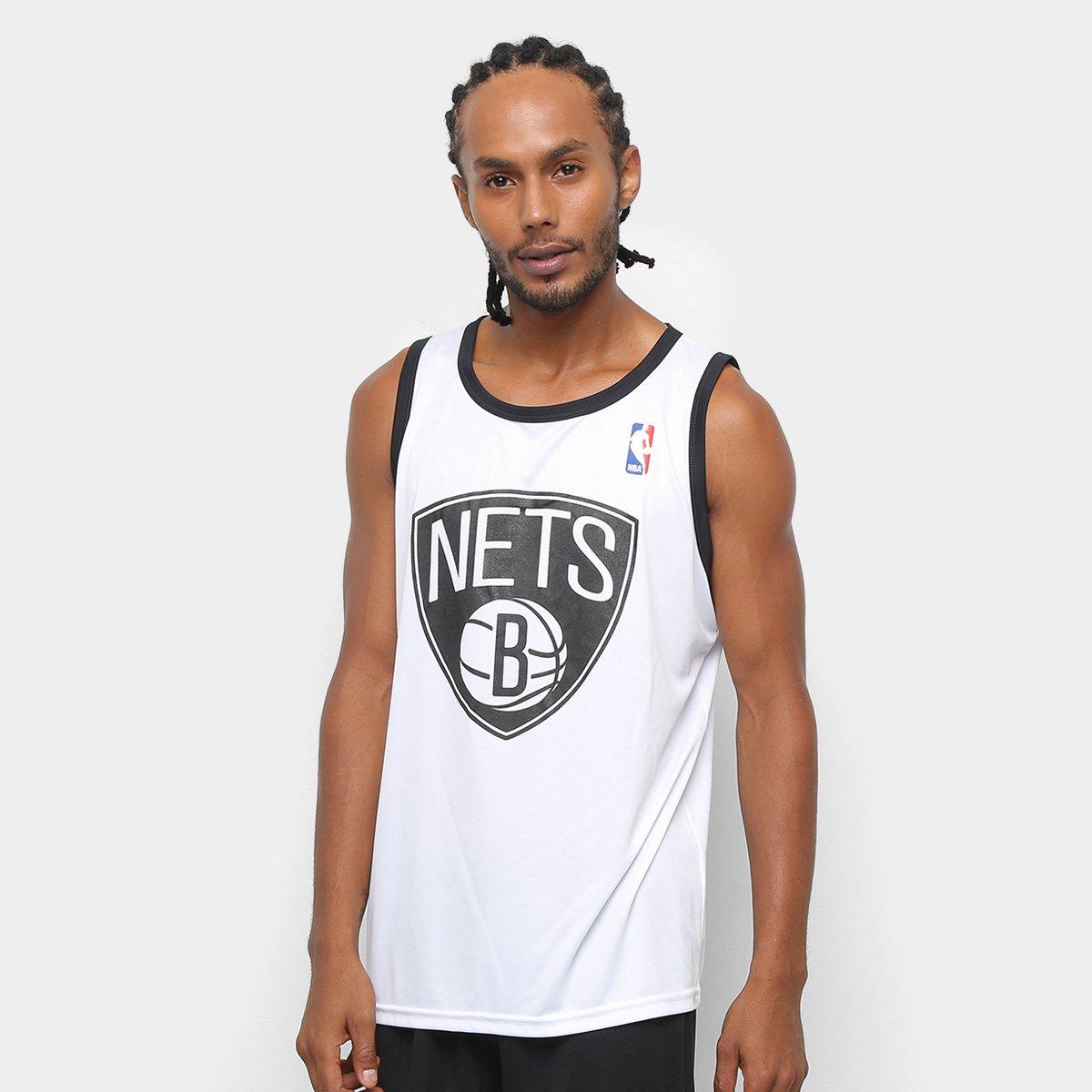 07f3c4021 Camiseta Regata NBA First Brooklyn Nets Masculina - Compre Agora ...
