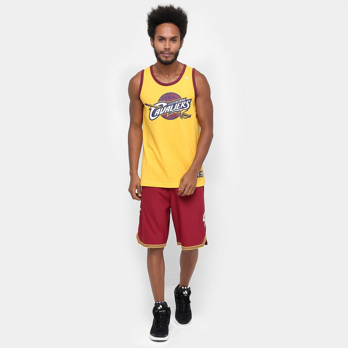 Camiseta Regata New Era NBA Basic Logo Cleveland Cavaliers - Loja NBA