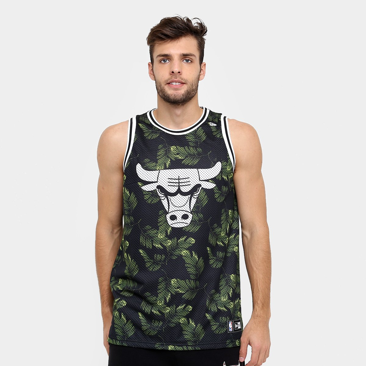 Camiseta Regata New Era NBA Jersey Palm Camo Chicago Bulls - Compre Agora  eb67625ad54