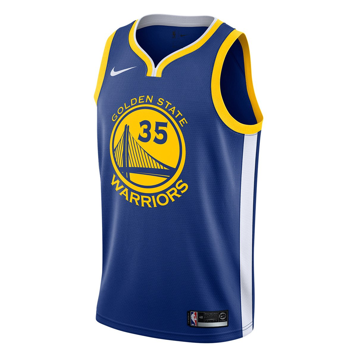 39c5970cd Camiseta Regata Nike Golden State Warriors Swingman NBA - Kevin Durant -  Compre Agora