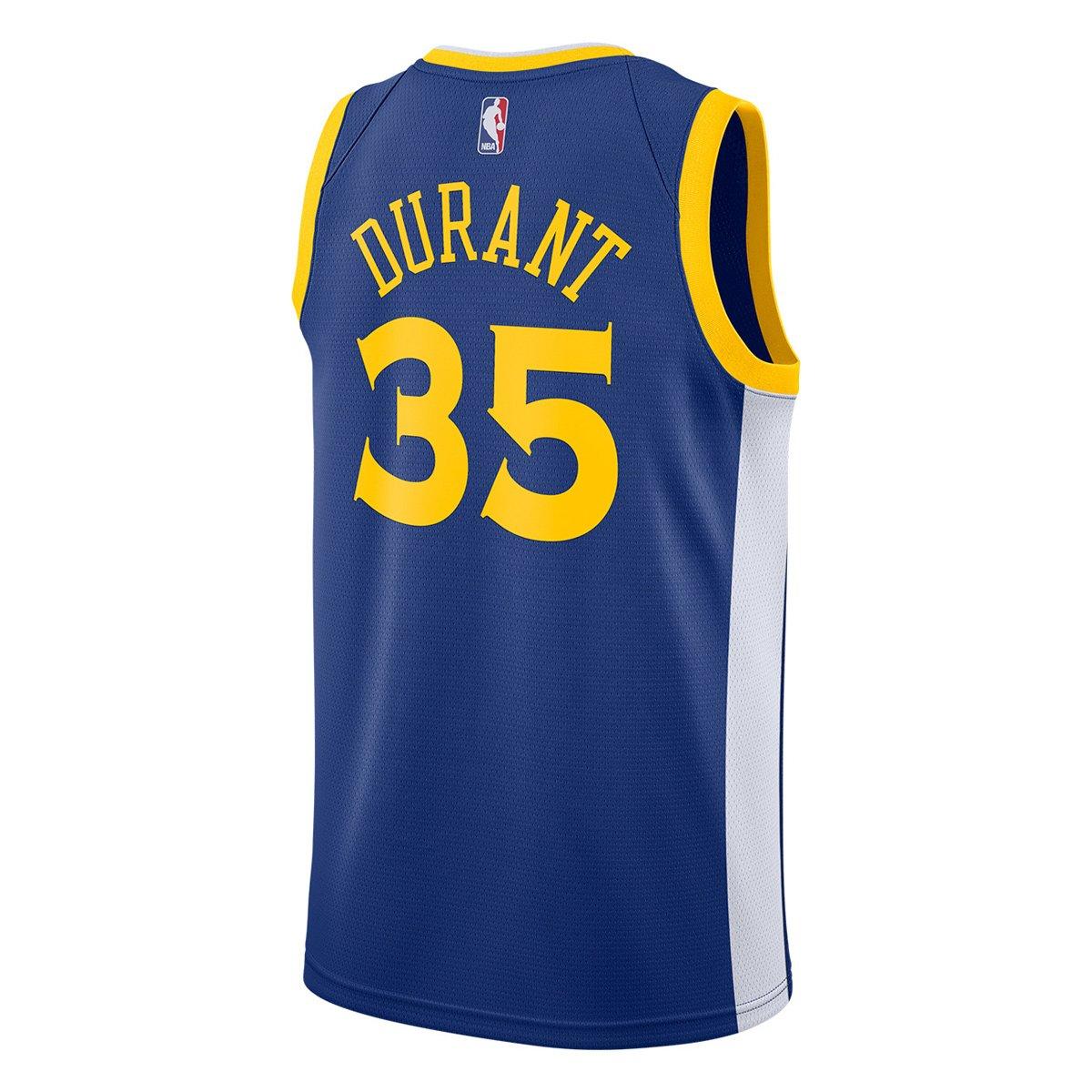 3f0a73ae69 ... Camiseta Regata Nike Golden State Warriors Swingman NBA - Kevin Durant  ...