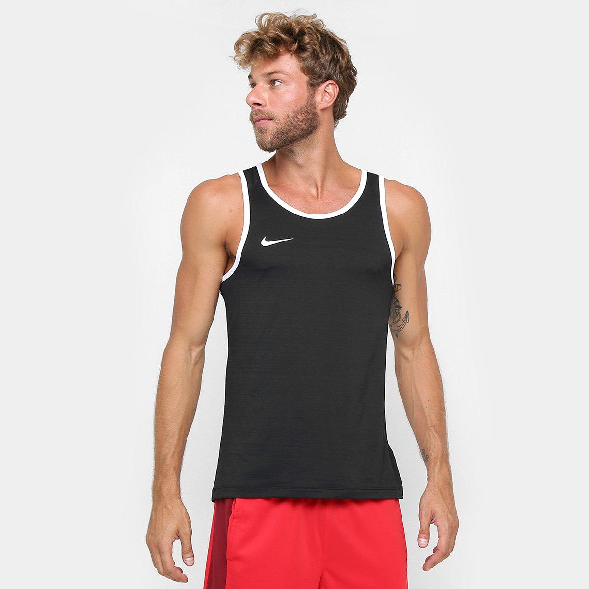 Camiseta Regata Nike SL Crossover - Preto - Compre Agora  bc975807f02