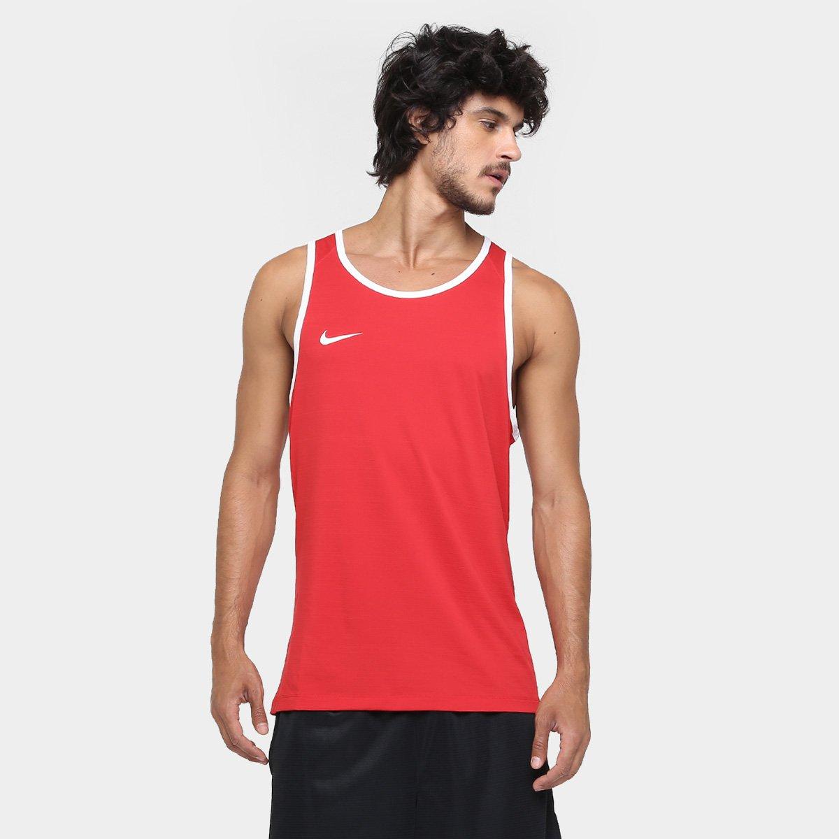 Camiseta Regata Nike SL Crossover - Vermelho - Compre Agora  58ae91c3f43