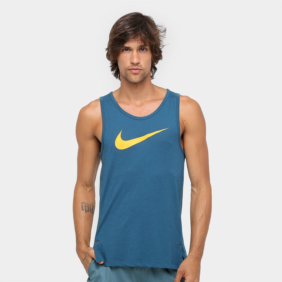 046b7be01a Camiseta Regata Nike Top SL Elite Masculina - Compre Agora