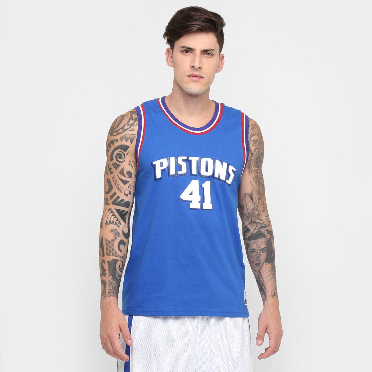 fdad75dc6 Camiseta Regata Retrô NBA Detroit Pistons - Compre Agora
