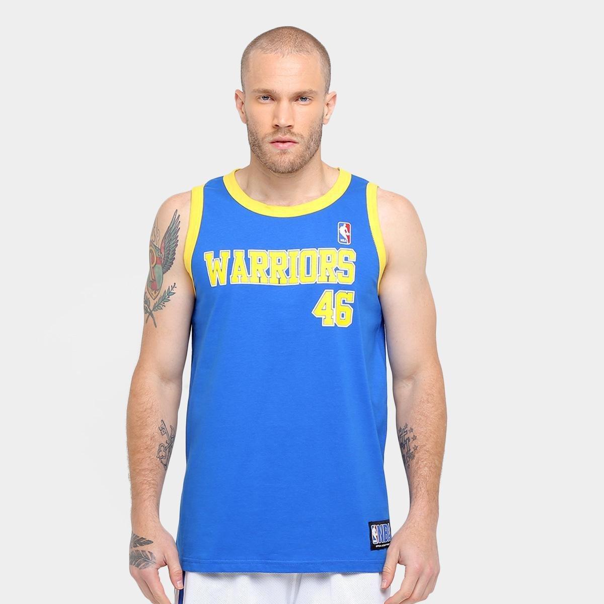 52437b765 Camiseta Regata Retrô NBA Golden State Warriors - Compre Agora ...