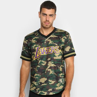 Camiseta Swingman Mitchell & Ness NBA Los Angeles Lakers Masculina
