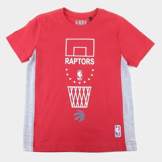 Camiseta Toronto Raptors Juvenil NBA On Court Masculina