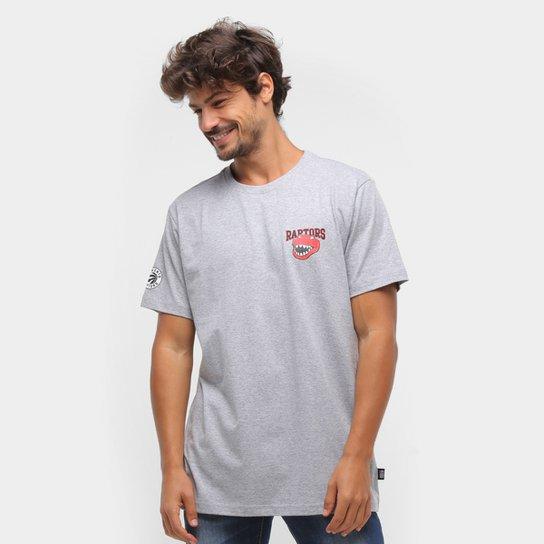 Camiseta Toronto Raptors NBA Masculina - Mescla