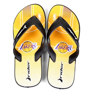 Chinelo NBA Los Angeles Lakers Rider Street Bold Ad Masculino