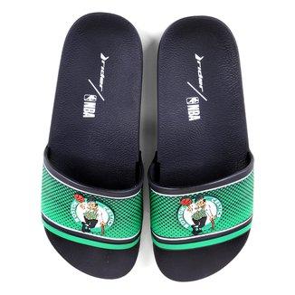 Chinelo Slide NBA Boston Celtics Rider Full 86 Masculino