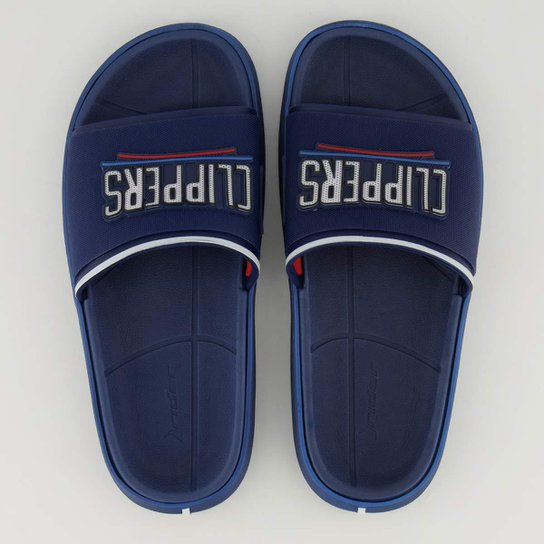 Chinelo Slide NBA Los Angeles Clippers Rider Masculino - Azul