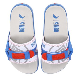Chinelo Slide NBA Los Angeles Clippers Rider Shield