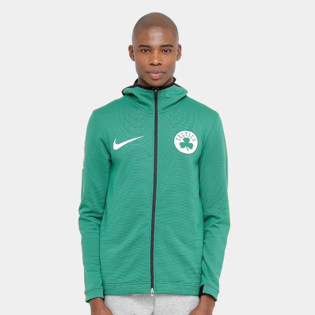 889eec2e6ccb6 Jaqueta NBA Boston Celtics Nike Aquecimento Masculina - Compre Agora ...
