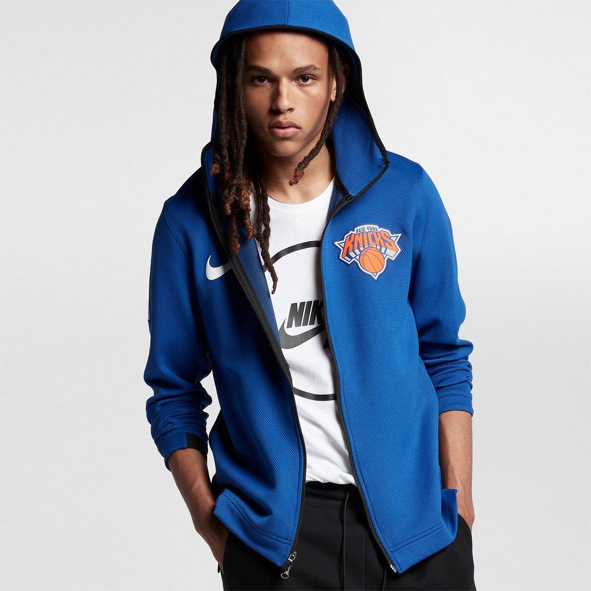 6f4d18e26 Jaqueta New York Knicks Nike Aquecimento Masculina - Compre Agora ...