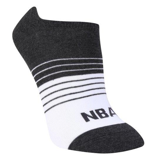 Meia NBA Cano Curto Stripes Colorblock - Mescla