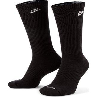 Meia Nike Cano Alto Everyday Plus Cush Crew Giannis Antetokounmpo