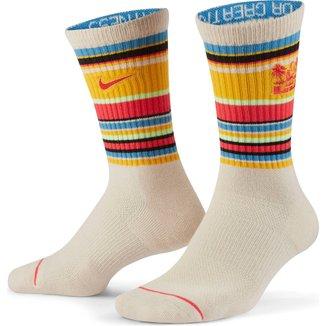 Meia Nike Cano Alto NBA LeBron James Ed Crew