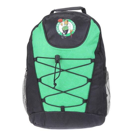 Mochila NBA Boston Celtics Bungee - Preto+verde
