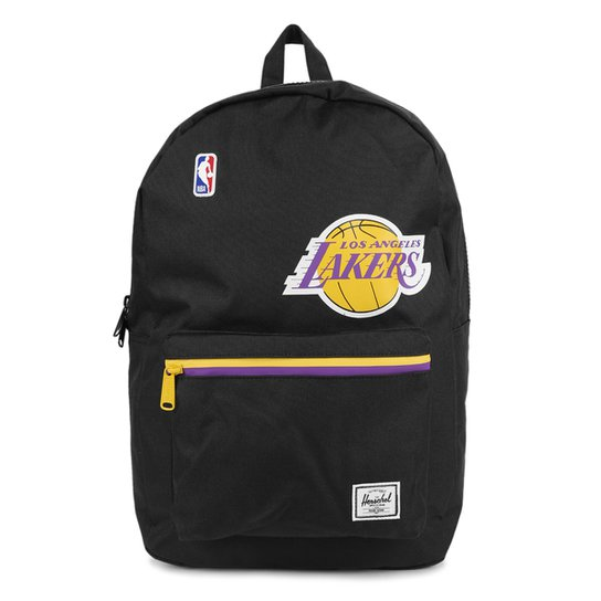 Mochila NBA Los Angeles Lakers Herschel Basic - Preto