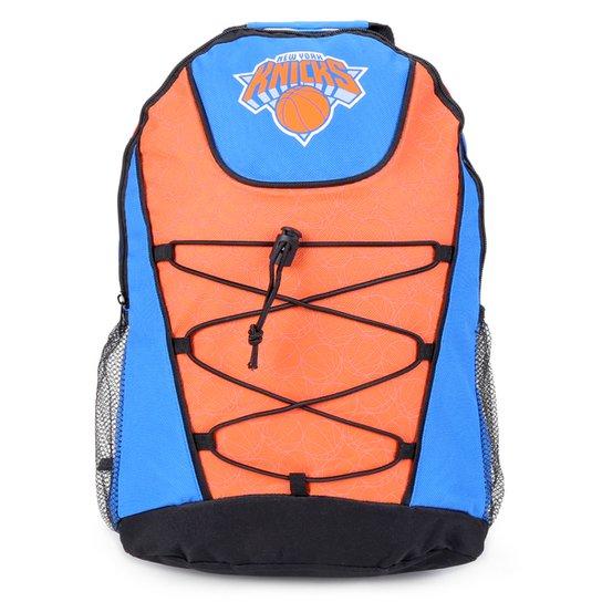 Mochila NBA New York Knicks Bungee - Azul+Laranja