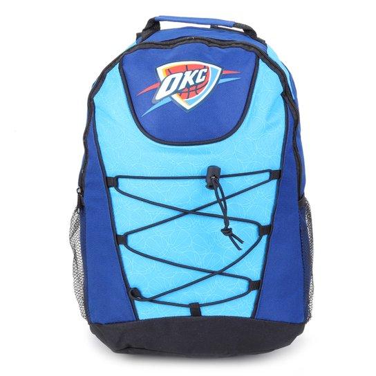 Mochila NBA Oklahoma City Thunder Bungee - Marinho+Azul
