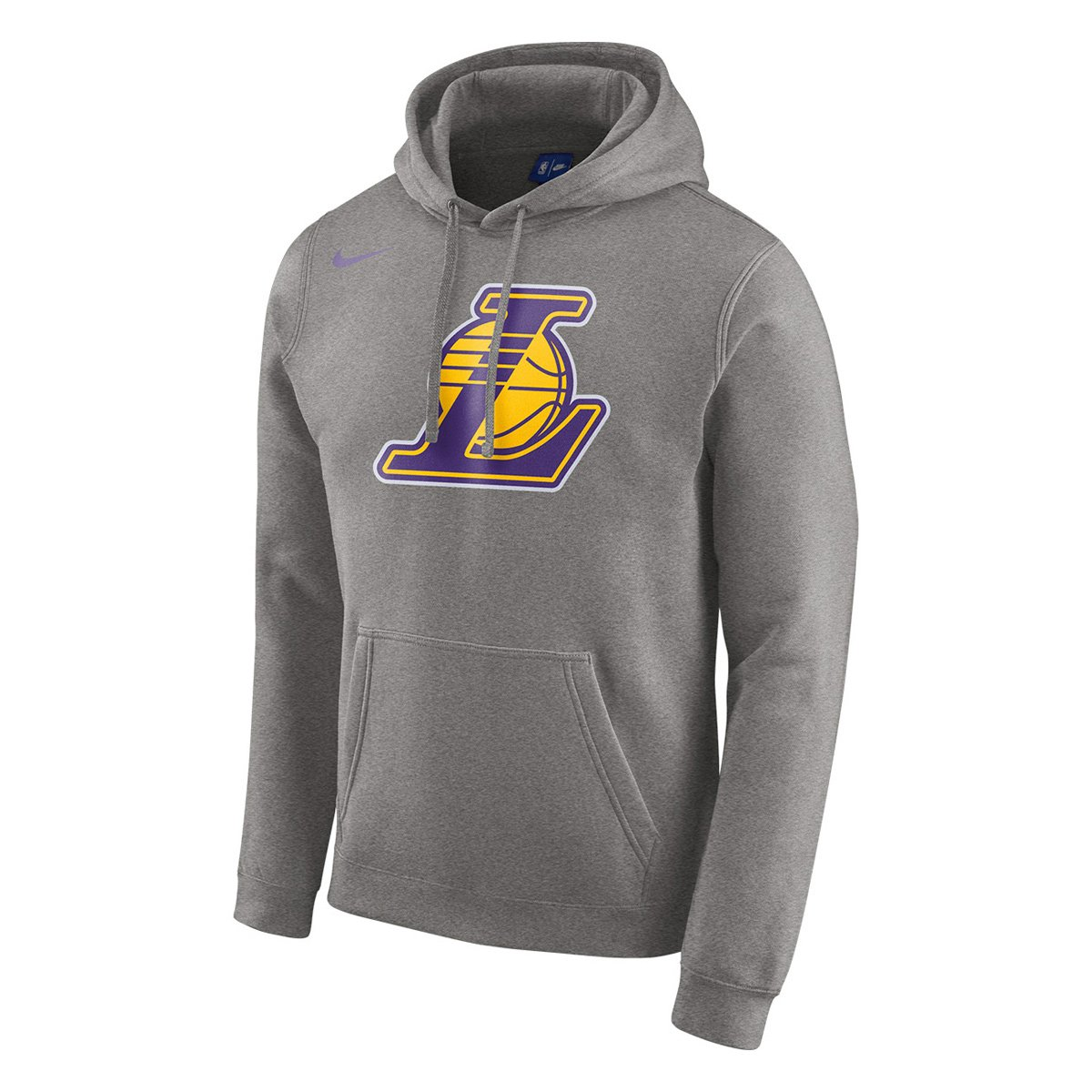 Moletom Los Angeles Lakers Nike NBA Club Logo Masculina - Compre Agora  02688568eed