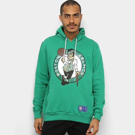 Moletom NBA Boston Celtics Canguru Masculino - Verde