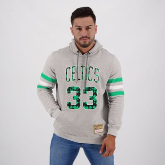 Moletom NBA Boston Celtics Mitchell & Ness Old School Masculino