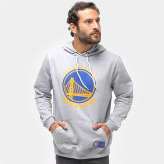 Moletom NBA Golden State Warriors Canguru Masculino