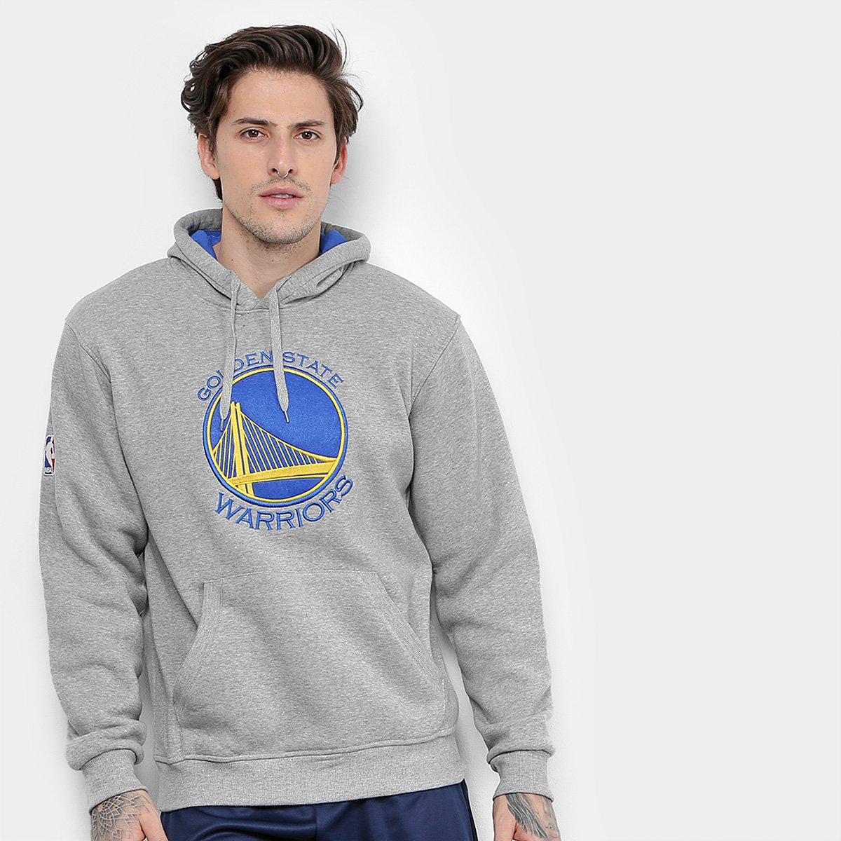 8bce7782e Moletom NBA Golden State Warriors Masculino - Compre Agora