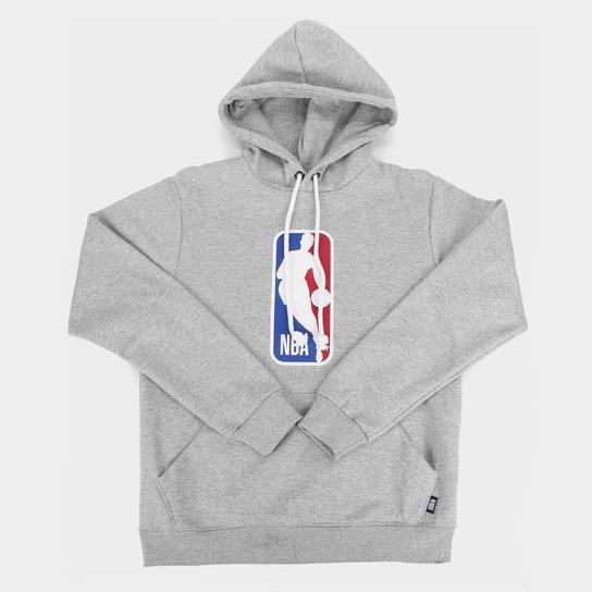 Moletom NBA Juvenil Canguru Masculino - Mescla