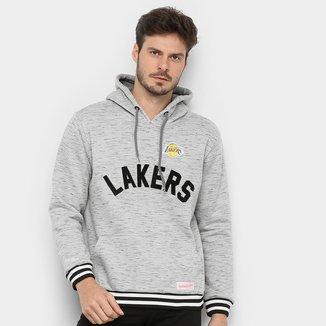 Moletom NBA Los Angeles Lakers Mitchell & Ness Mescla Masculino