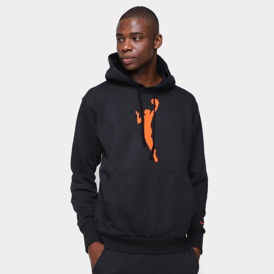 Moletom Nike NBA Pullover Essentials 13 Masculino - Preto