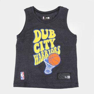 Regata Infantil NBA Golden State Warriors New Era Masculina