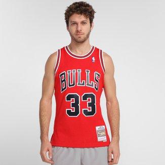 Regata Mitchell & Ness Chicago Bulls Masculina