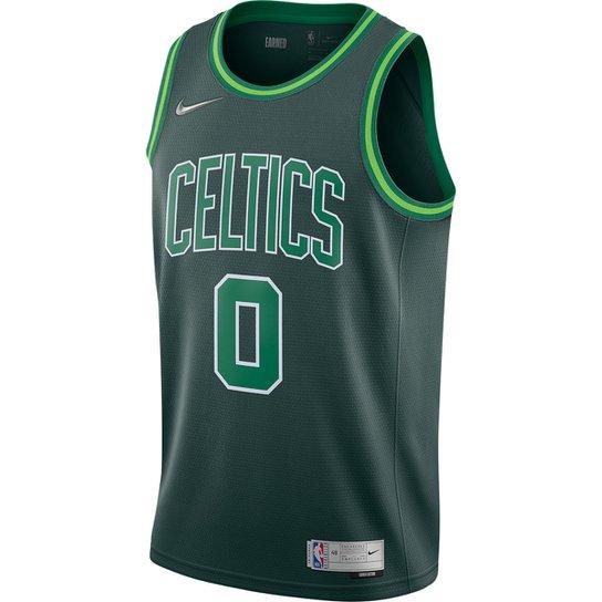 Regata NBA Boston Celtics Jayson Tatum Jersey Swingman Nike ER Masculina - Verde