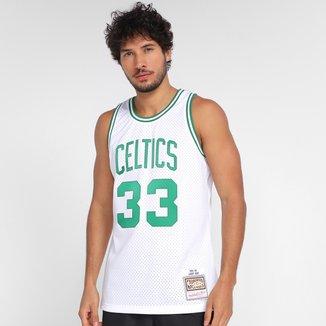 Regata NBA Boston Celtics Larry Bird nº 33 Mitchell & Ness Masculina