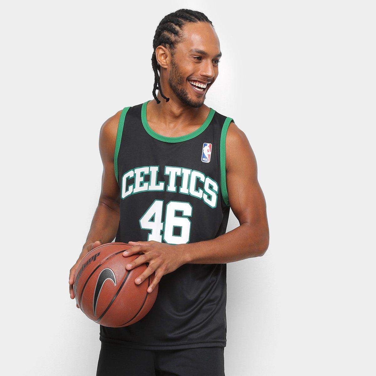 af9cdd50c Regata NBA Boston Celtics Retrô Masculina - Compre Agora