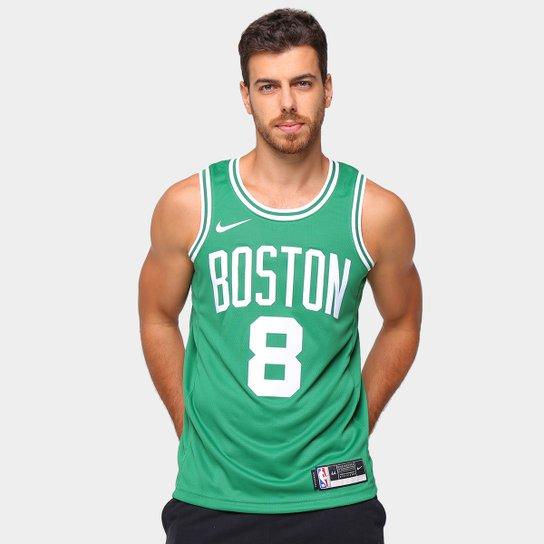 Regata NBA Boston Celtics Swingman Nike Walker 8 Masculina - Verde+Branco