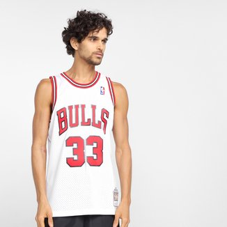 Regata NBA Chicago Bulls Pippen nº 33 Mitchell & Ness Masculina