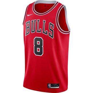Regata NBA Chicago Bulls Zach Lavine Nike Icon Edition 2020 Masculina