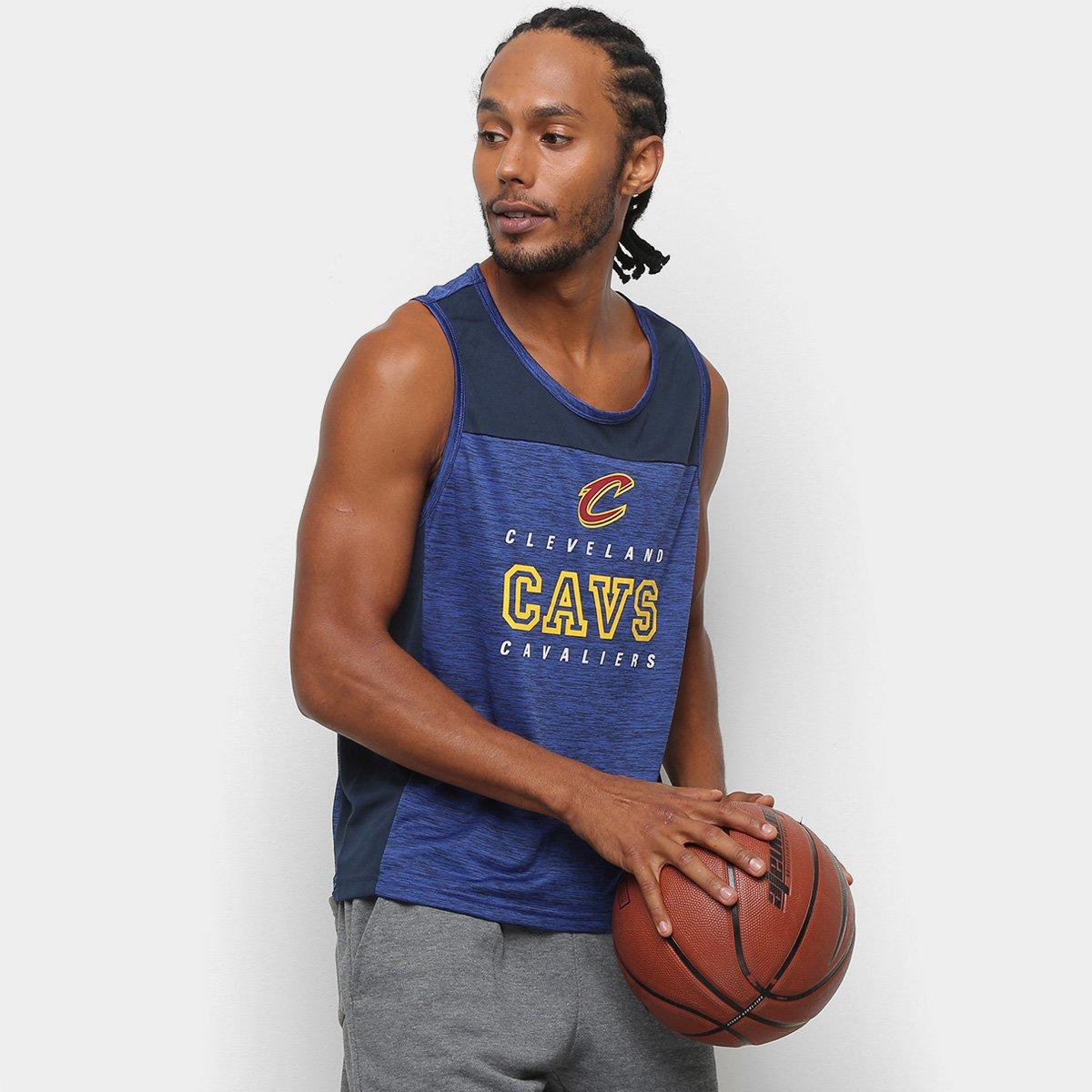 Regata NBA Cleveland Cavaliers 17 Fio Tinto Mesh Masculina - Compre ... 87f76fabe8e9f